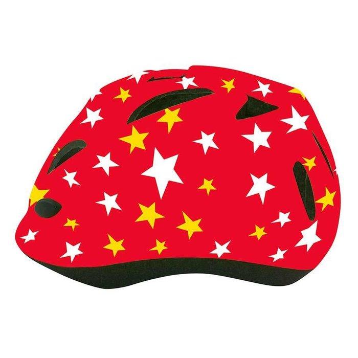EVO, Thumper, Helmet, Red Stars, 54-58cm