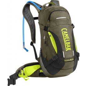 Camelbak M.U.L.E. LR 15 100 oz Burnt Olive/Lime Punch