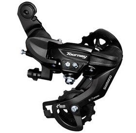 Shimano Shimano Tourney TY300 6/7-Speed Long Cage Rear Derailleur Direct-Attach