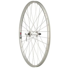 "Quality Wheels Quality Wheels Value Series 1 Mountain Front Wheel 26"" Formula / Alex Y2000 Silver"