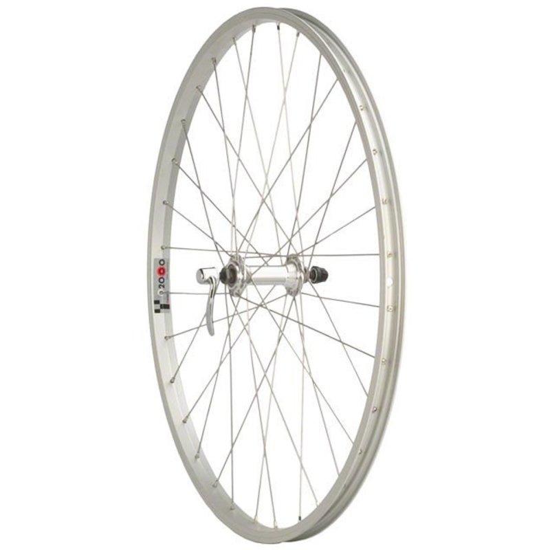 "Quality Wheels Quality Wheels Value Series 1 Mountain Front Wheel 26"" Formula / Alex Y2000 Silver"