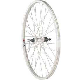 "Quality Wheels Quality Wheels Value Series  Mountain Rear Wheel 26"" Formula 135mm Freehub / Alex Y2000 Silver"