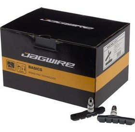 Jagwire Jagwire Mountain Sport Brake Pads Threaded Post Box of 25 Pair, Gray
