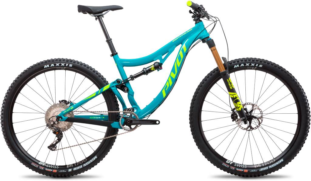 A License to Thrill. The 2018 Pivot Switchblade.