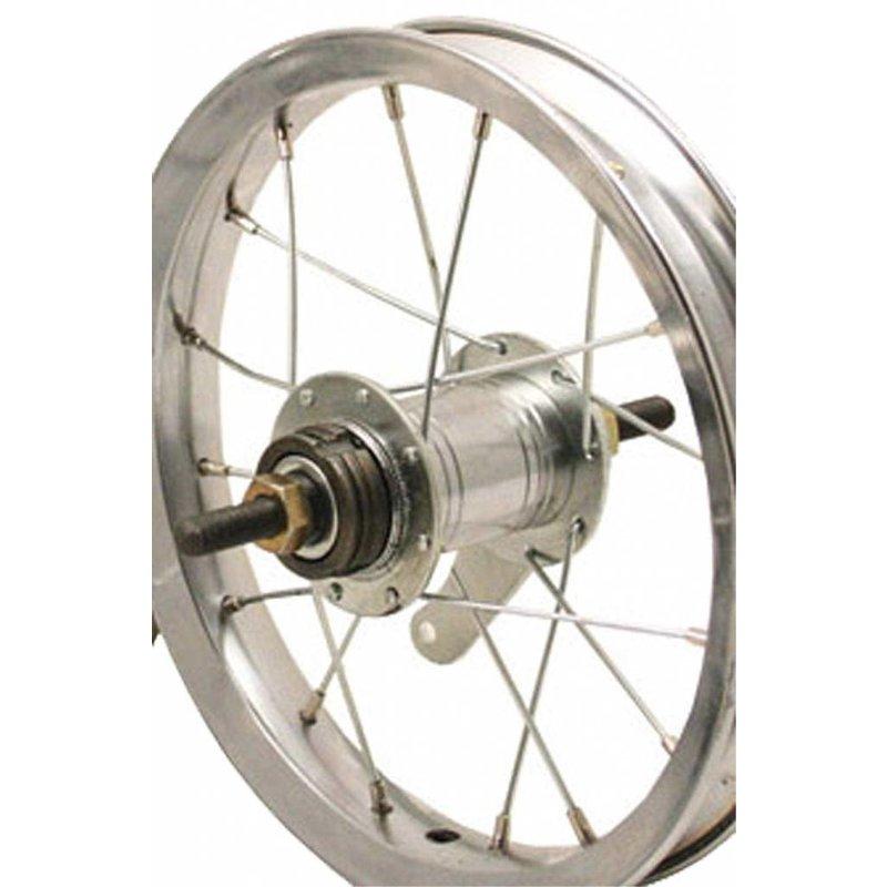 "Sta-Tru Sta-Tru 12"" Rear Wheel Silver"