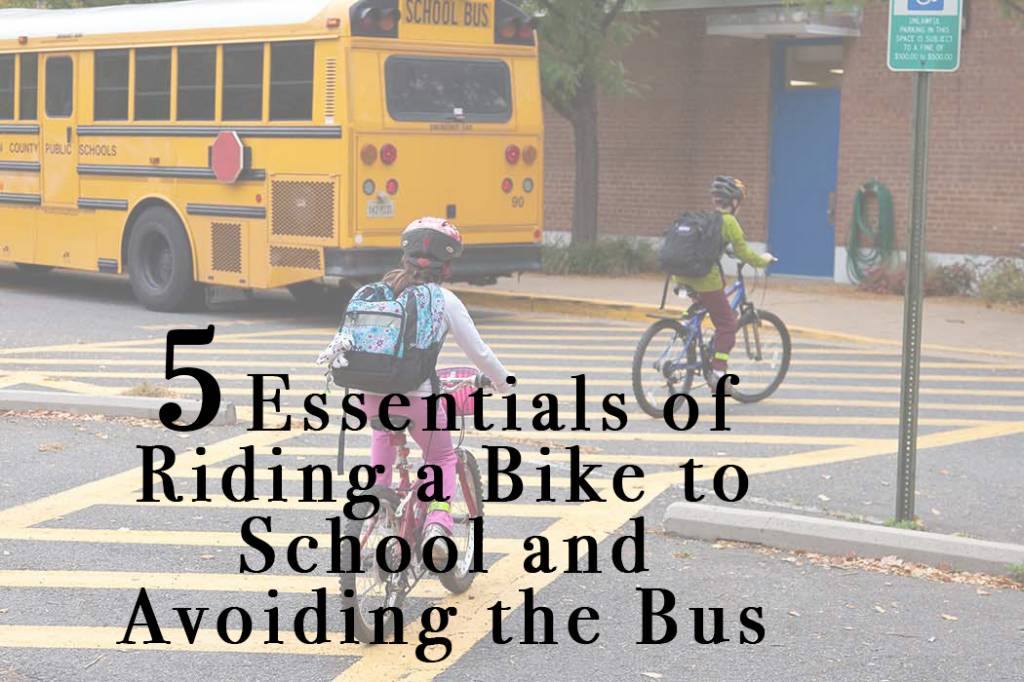5 Things to Remember About Riding To School
