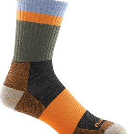 Darn Tough Vermont Heady Stripe Micro Crew Light Cushion Sock