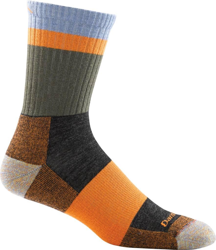 Darn Tough Vermont Heady Stripe Micro Crew Light Cushion Sock