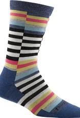 Darn Tough Vermont Offset Stripe Crew Light Sock