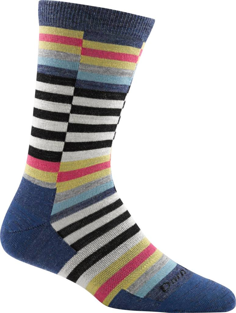 Darn Tough Vermont Offset Stripe Crew Light Sock