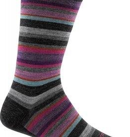 Darn Tough Vermont Sassy Stripe Crew Light Sock