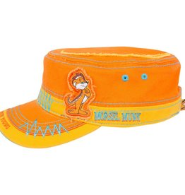Fidel Hat Have Fun Grow Young Orange