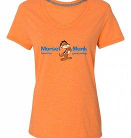 HFGY Orange V-Neck T-Shirt