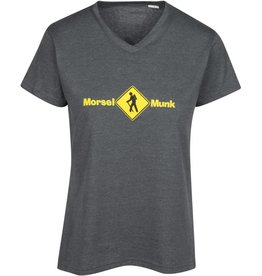 Morsel Munk Women's Hiker V-Neck Short Sleeve Shirt