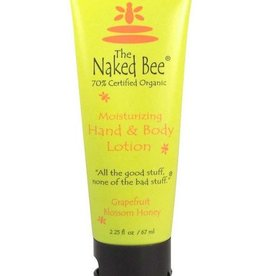 The Naked Bee Grapefruit Blossom Honey Hand Lotion 2.25oz