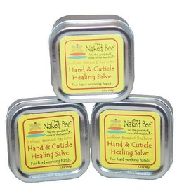 The Naked Bee Hand and Cuticle Healing Salve 1.5oz