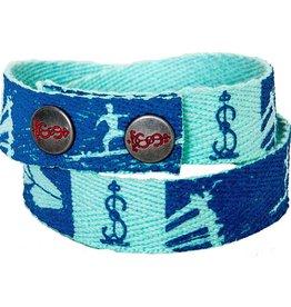 Simbi Haiti Twill Snap Bracelet