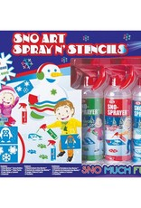 Alex / Ideal Sno Art Spray N' Stencil Kit