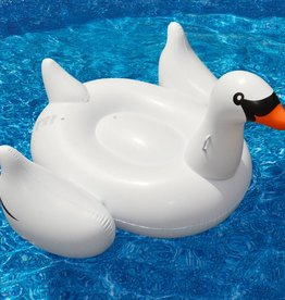 Solstice / Swimline Inflatable Swan Pool and Lake Float