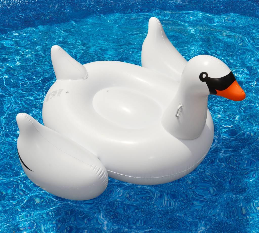 Solstice / Swimline SOLSTICE Inflatable Swan Pool And Lake Float