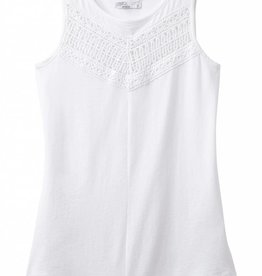prAna Petra Swing Top - White