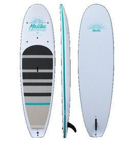 """Pau Hana Surf Supply Pau Hana Malibu Classic White W/ Paddle 10' 6"""" 2018"""
