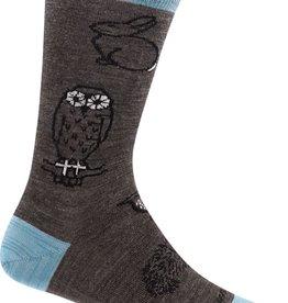 Darn Tough Vermont Woodland Creatures Crew Light Women's Sock