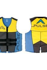 Pulse/Diversco Men's Neoprene Life Vest - Blue/Yellow