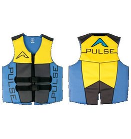 Pulse/Diversco Men's Neoprene Life Vest - Blue/Yellow