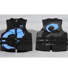 Pulse/Diversco Neoprene Men's Lifevest - Black/Blue