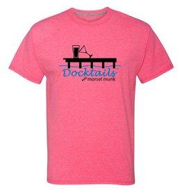 Morsel Munk Docktails T-Shirt - Pink