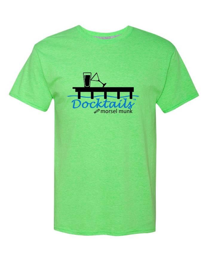 Morsel Munk Docktails T-Shirt - Green