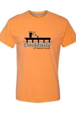 Morsel Munk Docktails T-Shirt - Orange