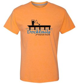 Morsel Munk Docktails T-Shirt - Orange