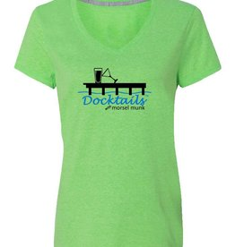 Morsel Munk Docktails Women's T-Shirt - Green