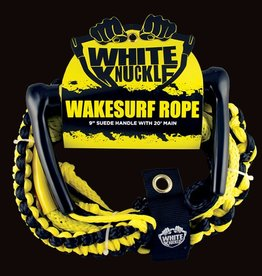 "Pulse/Diversco Wakesurf Rope 9"" Leather Grip 20' Main"