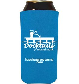 Morsel Munk Docktails Tallboy Can Cooler - Blue