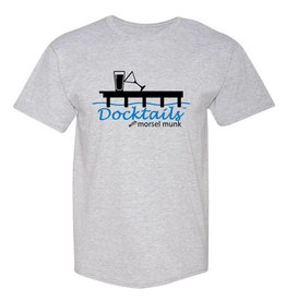 Morsel Munk Docktails T-Shirt - Steel