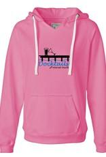Morsel Munk Docktails Women's Pink Pullover Hoodie