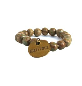 Simbi Haiti Simbi California Dreaming Clay Beads Bracelet