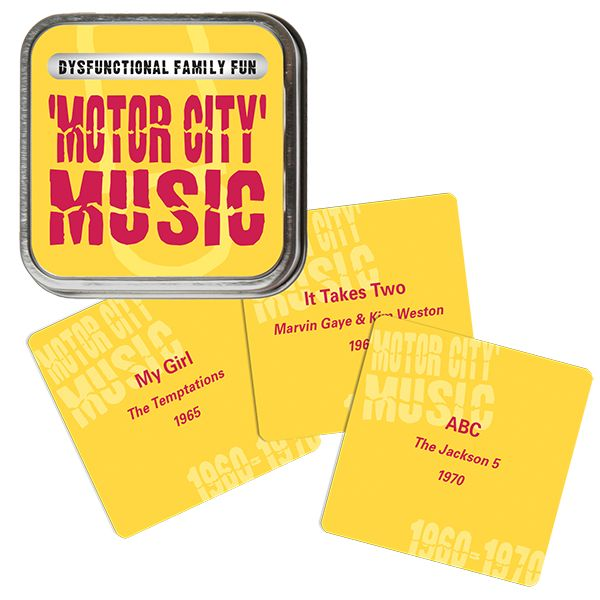 Family Games America, Inc. Dysfunctional Family Fun - Motor City Music