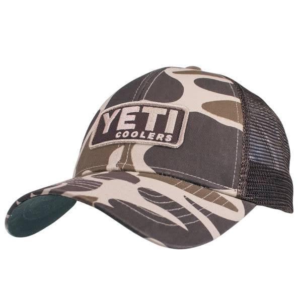 YETI YETI Camo Patch Trucker Hat