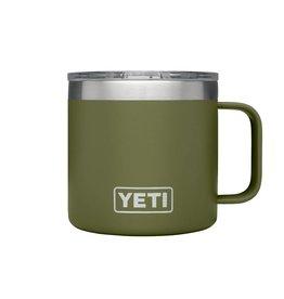 YETI YETI Rambler Mug 14oz Olive Green