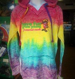 Morsel Munk HFGY Ladie's Rainbow Hoodie