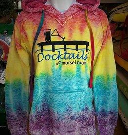 Docktails Docktails Women's Rainbow Hoodie