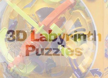 3D Labyrinth Puzzles