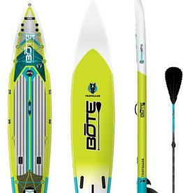 "BOTE BOTE Inflatable Traveler Native 12'6"" W/ Paddle 2018"