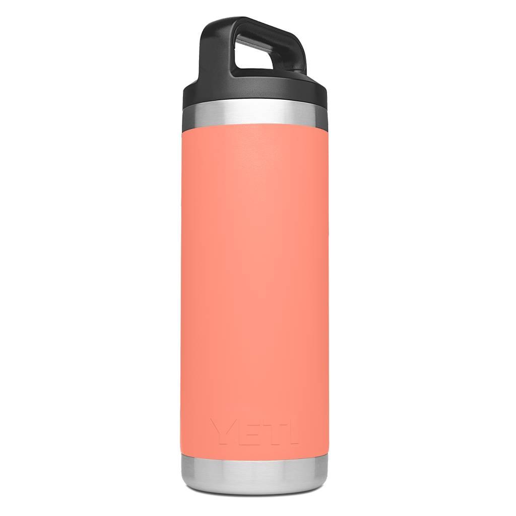 YETI YETI Rambler Bottle 18oz Coral