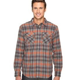 prAna Men's Asylum Heavyweight Flannel Shirt - XL