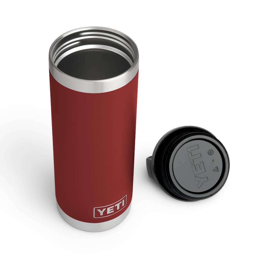 YETI YETI Rambler Bottle 18oz Brick Red